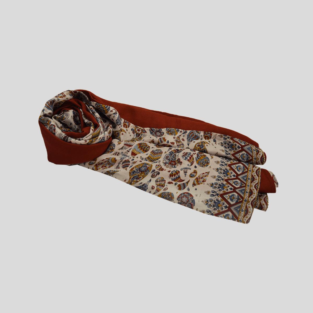 Pañuelo seda con viscosa