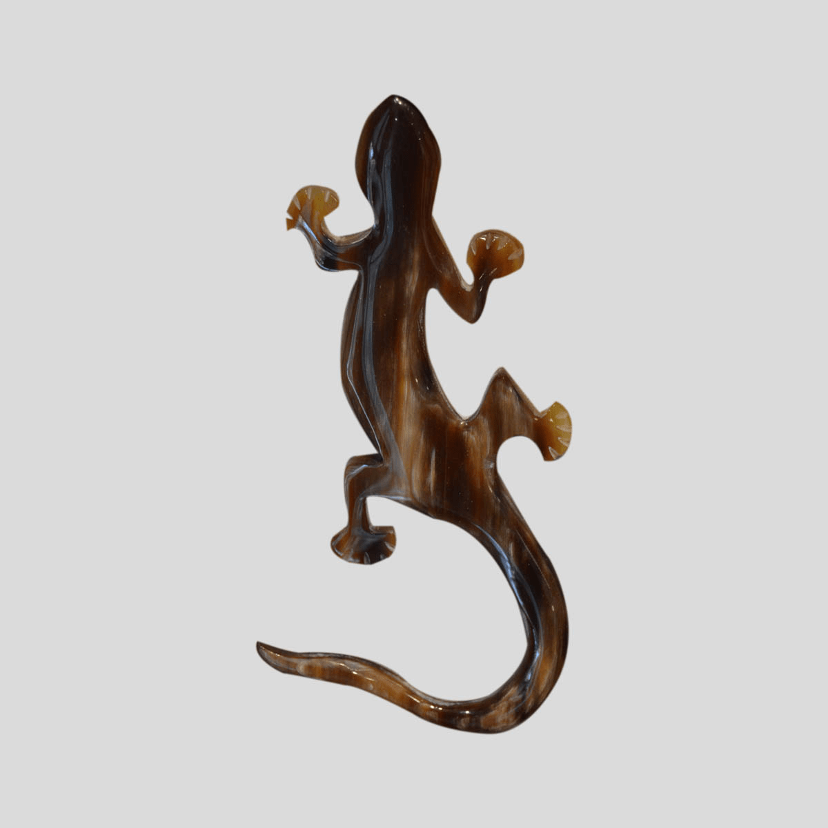 Broche asta salamandra